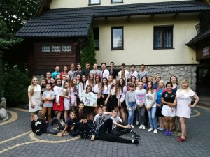 Poronin bendra nuotrauka Baltoji Voke, Salcininkai ir Ukraina