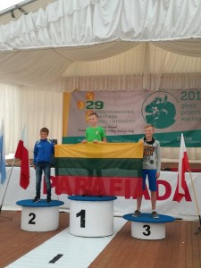 Baltoji Voke D.Piatikonis ringo 1 vieta